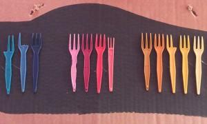 Assemblage 1, Tableau fourchettes récup